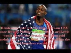 Jeff Henderson wins gold medal in the long jump in olympic 2016