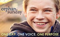 Orphan Sunday 2013 is November 3! Find an event in your region and many resources!