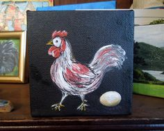 Henny Penny Went Pecking by Lana Thibeault on Etsy