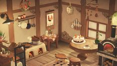 Animal Crossing Wild World, Animal Crossing Pocket Camp, Animal Crossing Game, Ac New Leaf, Aesthetic Drawing, Island Design, Kitchen Witch, Decoration, Cute Animals