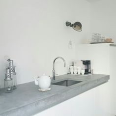 Concrete counter top @thuisbijsuus