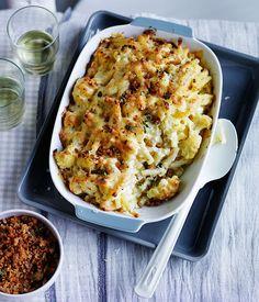 Fast cauliflower mac and cheese recipe :: Gourmet Traveller