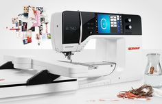 BERNINA 7 Series  I would love one of these, but not many can afford a $10,000 sewing and embroidery machine. I'll just make due with my Bernina 730E