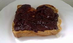 With jam and bread