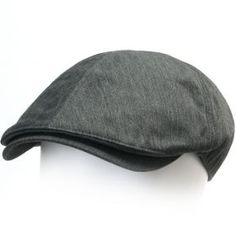 ililily New Mens Cotton Flat Cap Cabbie Hat Gatsby Ivy Caps Irish Hunting Hats Newsboy with Stretch fit (flatcap-004)
