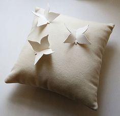 butterfly cushion - notonthehighstreet