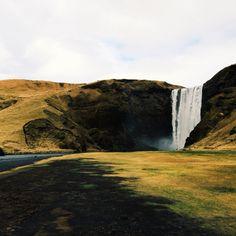 Skógafoss, Iceland #naturegonewild