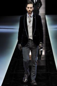 See the Collection: Giorgio Armani Fall 2013: Fashion Shows: GQ