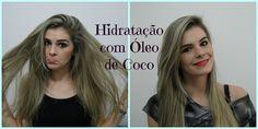 Hidratação com Óleo de Coco- Recuperando cabelo elástico