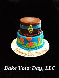 Scooby Doo Birthday Cake Bake Your Day, LLC - Alexandria, LA www.facebook.com/bakeyourdayllc (318) 229-0299 bakeyourdayllc@hotmail.com