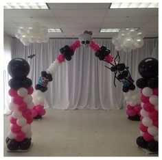 Monster high balloon arch #monster high #balloon #arch #decor #decoration Balloon Arrangements, Balloon Decorations, Balloon Ideas, 8th Birthday, Birthday Parties, Monster Balloons, Princess Balloons, Balloons And More, Monster High Party