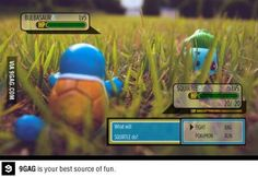 Sooooo real and video game like!