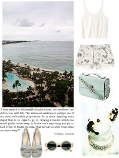 """Beach"" by gabihax ❤ liked on Polyvore"