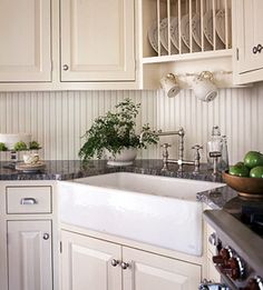 Country French Corner Sink
