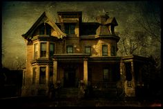 Forest Ave Historic Home Neenah WI Photo credit - Joel Primitive Antiques, Haunted Places, Ghost Stories, Woman Painting, Victorian Homes, Barn Wood, Old Houses, Wisconsin, Architecture