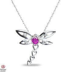 Jet NissoniJewelry presents - Ladies Diamond Accent Fashion Pendant w/ Created Ruby Silver    Model Number:PV5112A-SI77CRU    https://jet.com/product/Ladies-Diamond-Accent-Fashion-Pendant-with-Created-Ruby-Silver/2f670e5b3c354b28a60138b4aa5d042d