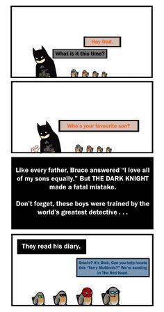 Bat Family: The Favourite by CrimsonHorror.deviantart.com on @deviantART