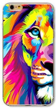 cat cell phone case, iPhone, lion