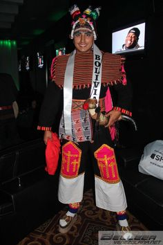 Mr. Tourism International 2014: Bolivia in National Costume