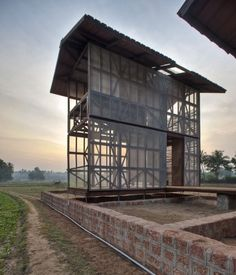Hut-to-hut Architects: Rintala Eggertsson Architects Location: Karnataka, India