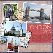 scrapbook pages travel - Google Search                                                                                                                                                      More