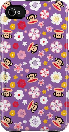 """Julius in Tokyo"" iPhone 4/4S Capsule Case by Paul Frank http://www.getuncommon.com/collections/945/"