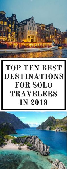 Looking to try something new and challenge yourself this coming year? Why not travel solo? Here are some of the world's best travel destinations that are guaranteed safe and perfect for solo travelers - even for first timers!