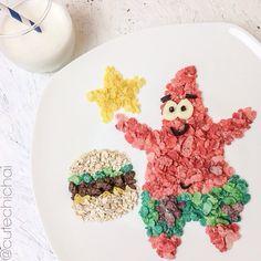 Patrick Starr using Fruity Pebbles by @cutechichai
