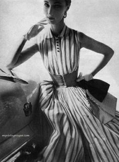 Harper's Bazaar  May 1954 - Evelyn Tripp