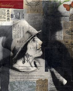 MICHELLE CAPLAN: Mixed Media Collage Artist: Ever heard of Mina Loy?? Well, you should!