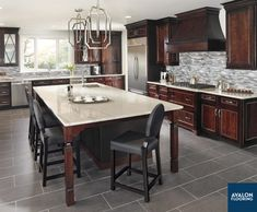 A ledger stone backsplash is the perfect addition to your kitchen that adds a striking and dynamic look to the space.