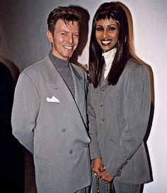 David Bowie and Iman Angela Bowie, Iman And David Bowie, David Bowie Starman, Mr And Mrs Jones, David Jones, Duncan Jones, Sweet Love Story, The Thin White Duke, Major Tom