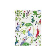 Buy Osborne & Little By Quentin Blake Cockatoos Wallpaper, Multi, W6060/01 Online at johnlewis.com