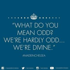 Made in Chelsea. Divine