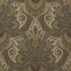 Marmande Paisley - Truffle - Paisley - Fabric - Products - Ralph Lauren Home - RalphLaurenHome.com Beautiful pattern for drapes