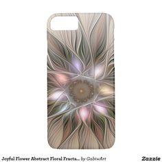 Joyful Flower Abstract Floral Fractal Art iPhone 7 Case