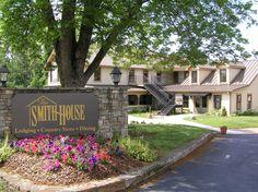 The Smith House, Dahlonega, Georgia.  Family style southern restaurant