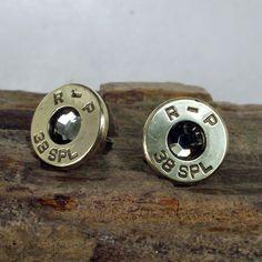 Bullet  Earrings   Stud Earrings  Ultra Thin  by ShellsNStuff, $14.99      My Next Pair of Earrings.