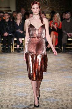 Christian Siriano fw 17/18 at New York Fashion Week.