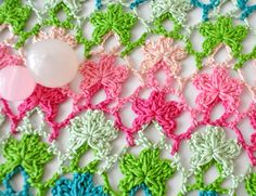 MyPicot is always looking for excellence and intends to be the most authentic, creative, and innovative advanced crochet laboratory in the world. Chunky Crochet, Knit Or Crochet, Irish Crochet, Crochet Motif, Crochet Instructions, Crochet Diagram, Crochet Stitches Patterns, Stitch Patterns, Crochet Stars