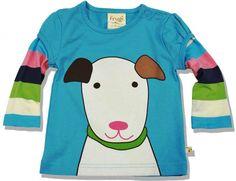 Frugi Μπλουζάκι με Σχέδιο Σκυλάκι - Sunnyside