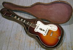 Kay Silvertone Thin Twin Jimmy Reed Model 1381 Cutaway Vintage Electric Guitar