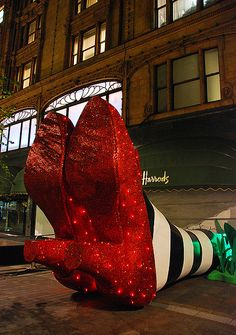 Harrods: Wicked Witch Of The East London