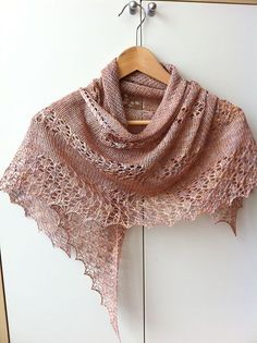 Free Pattern: June Bunnies Shawl. This is so beautiful!