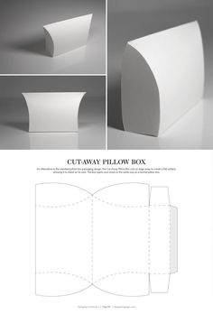 a frame pillow box dieline - Google Search