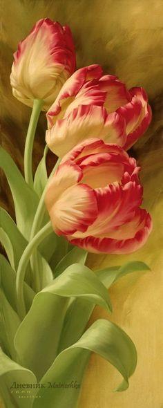 Цветы художника Игоря Левашова