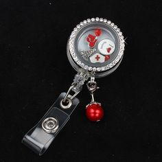 <p>The perfect badge reel for awesome nurses!</p><p>Regularly $49.99, this original limited edition item is 50% off at <strong> only $24.99</strong> for the first 50 fans!</p><p>All locket charms and chain included!</p>