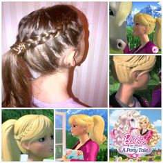 Barbie and a Pony Tale --Barbie's Hair style