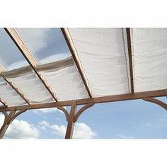 Sol 72 Outdoor 380 x 96 cm Rechteck Sonnensegel Middlefield Pergola With Roof, Pergola Shade, Pergola Canopy, Getaway Cabins, Fresco, Garden Living, Pergola Designs, Sailing, Backyard