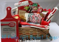 Basket ideas, Great christmas gifts and Ideas on Pinterest